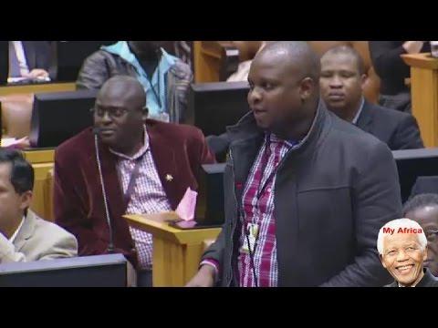 Nkandla Report. EFF walks Out Of Parliament.