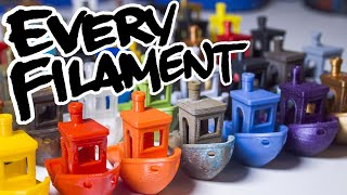 How to Use EVERY FILAMENT