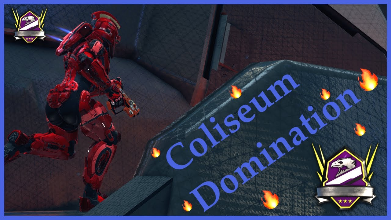 Solo Q COLISEUM DOMINATION on Halo 5 with Stress!