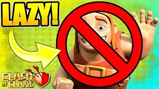 NO MORE LAZY BUILDERS ALLOWED!! - Clash Of Clans
