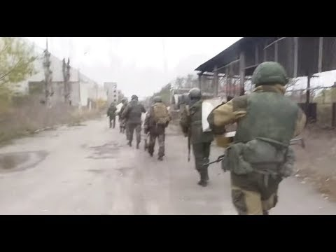 Видео боя разведки