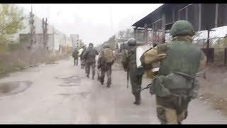 Видео боя разведки 4го РШБ ДНР с боевиками ВСУ в районе