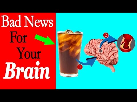 Reason why you should limit drink soda - Bad News for your Brain