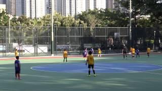 2014/11/21 播道vs王余家潔 下半場 小學校際足球