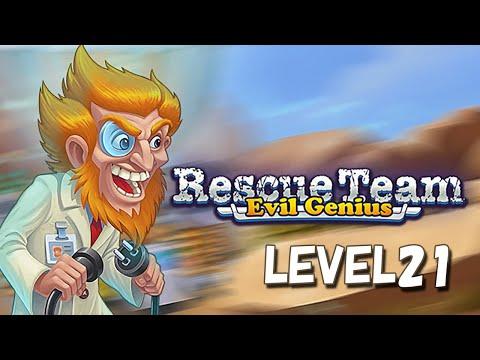 Rescue Team 9 Evil Genius PC LEVEL21 |