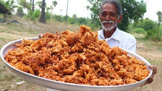 Crispy Onion Pakora | Quick and Easy Onion Snacks | Grandpa Kitchen
