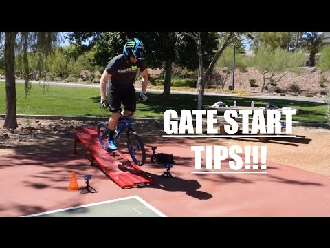 BMX RACE - Gate start tips for advanced riders
