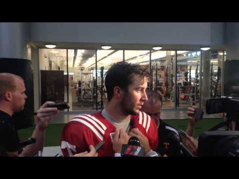Tennessee quarterback Justin Worley previews UT