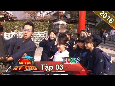 Vận Kimono - cầu duyên - phút giây lãng mạn tại Kyoto | DU LỊCH KỲ THÚ | Tập 3 | 26/12/2015