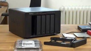 #2  Synology DS1515+  - Datensicherung für Selbstständige und KMUs - Installation der Festplatten