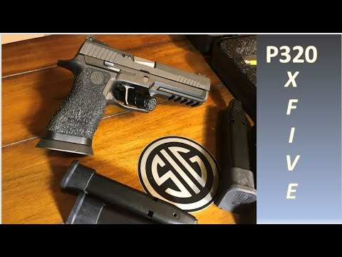 Sig Sauer P320 X Five - Review - Top competition gun? Great gun, but