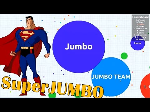 SuperJUMBO Team - Agar.io Gameplay