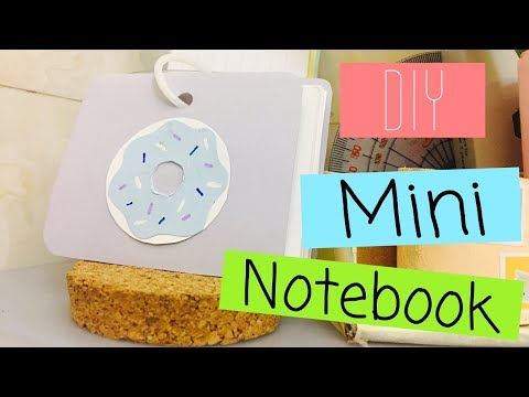 Diy Mini Donut Notebookroom Decor Milky Cookie