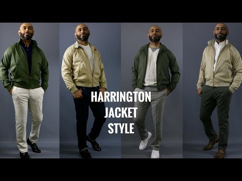 How To Wear A Harrington Jacket/How Men Should Style A Harrington Jacket