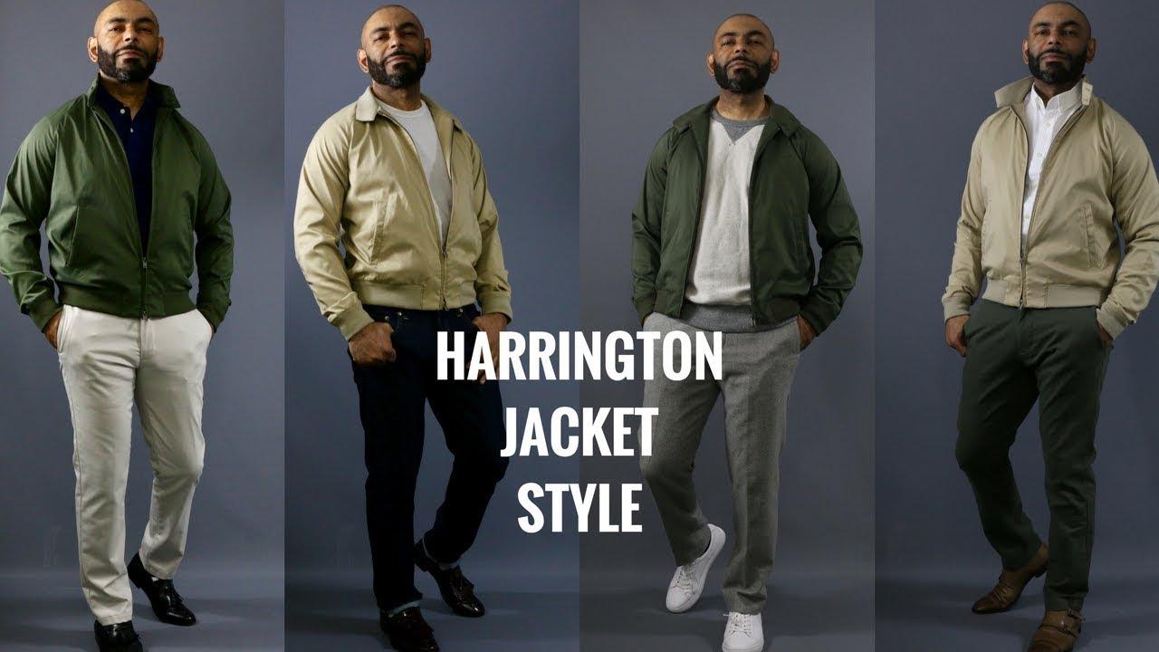 How To Wear A Harrington Jacket How Men Should Style A Harrington