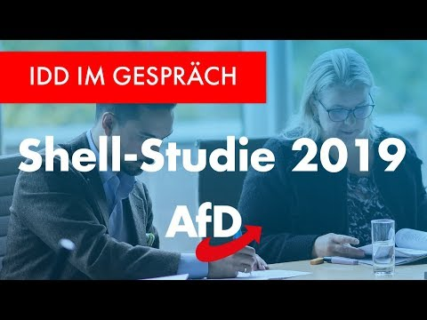 "++AfD++ SHELLSTUDIE 2019: Jugend = Populistisch & Traditionell? Mainstream ""besorgt""!"