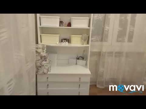 Покраска старого шкафа с ДСП акриловой эмалью