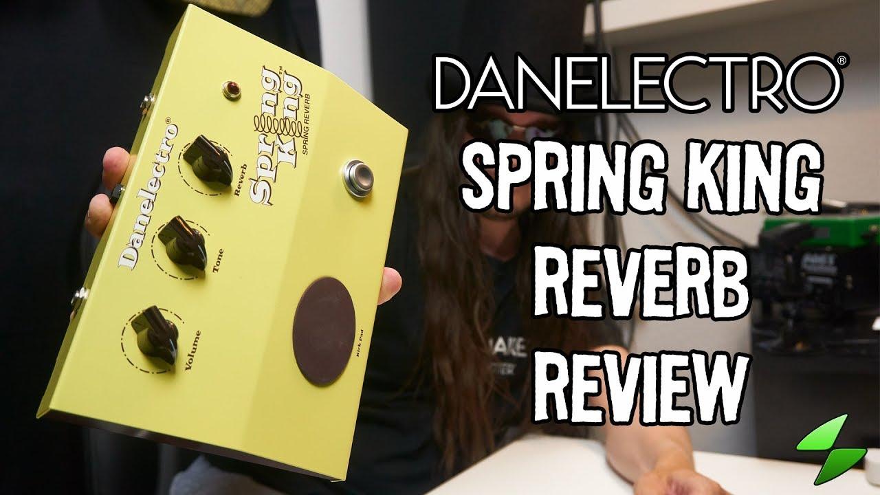 Danelectro Spring King Reverb  Full review