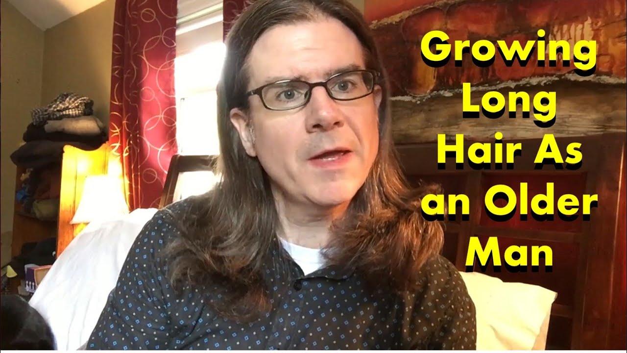 Mature mens long hair styles