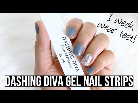 NAIL WRAPS THAT REALLY WORK!? Dashing Diva Nail Strips Review