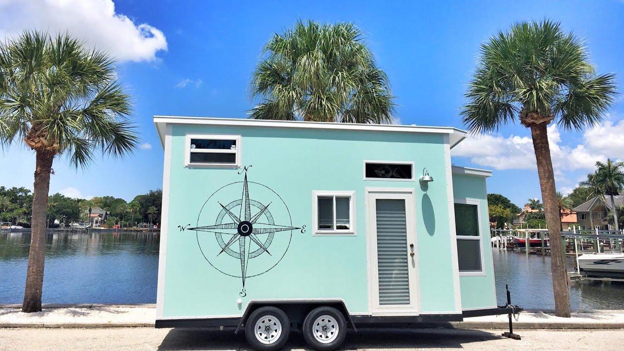 Tiny House On Wheels Beach House Tour Lightweight Under