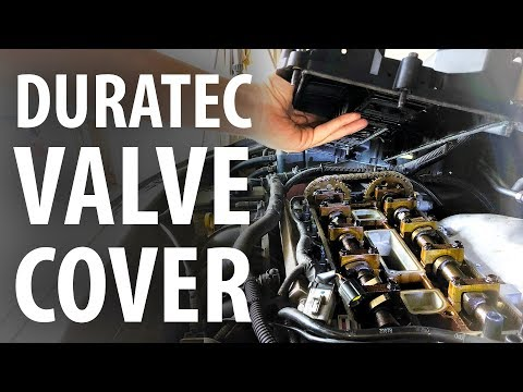 How to: Replace valve cover gasket Ford Duratec (Focus, Mondeo, S/C Max, Mazda LF, Volvo)