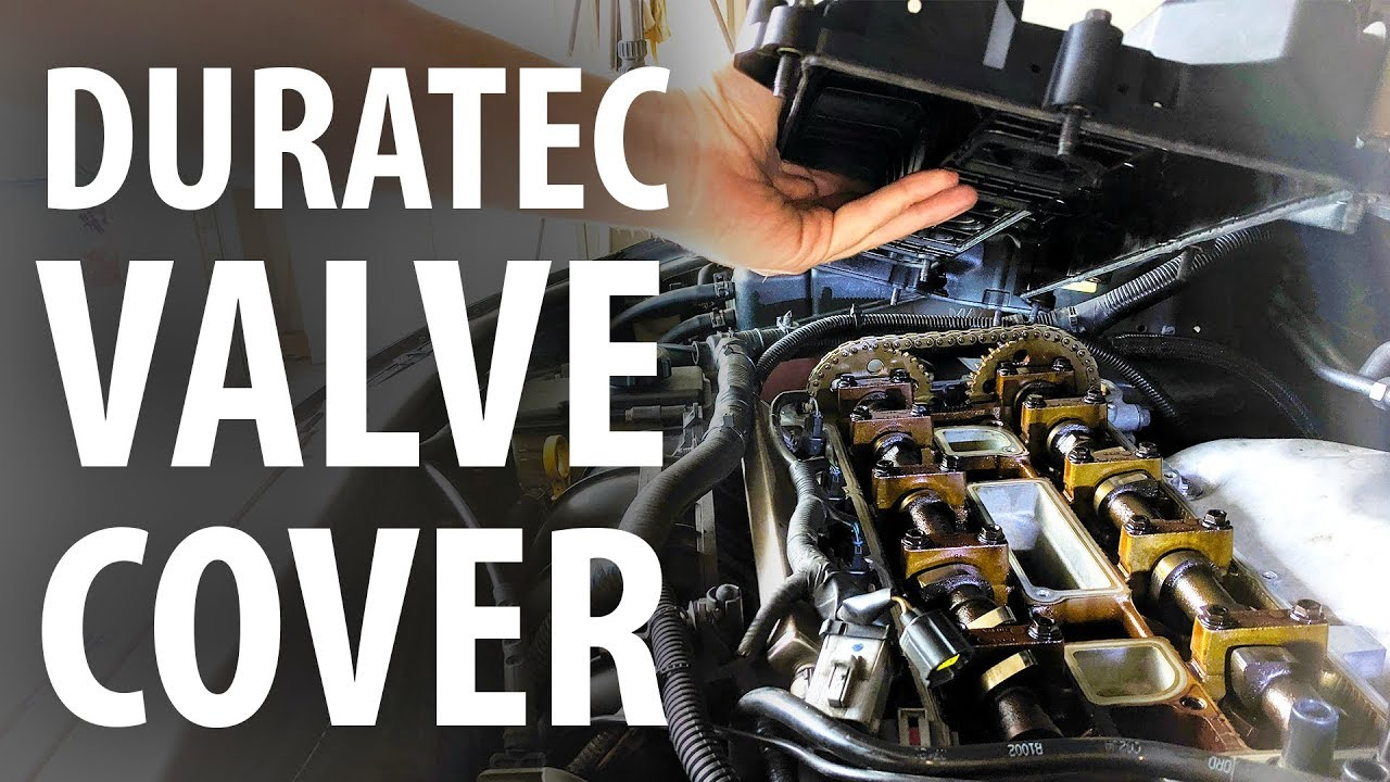 How To Replace Valve Cover Gasket Ford Duratec Focus Mondeo S C Max Mazda Lf Volvo Youtube