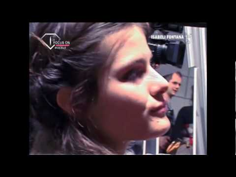 fashiontv | FTV.com - Isabeli Fontana First Face Talks F/W 08-09