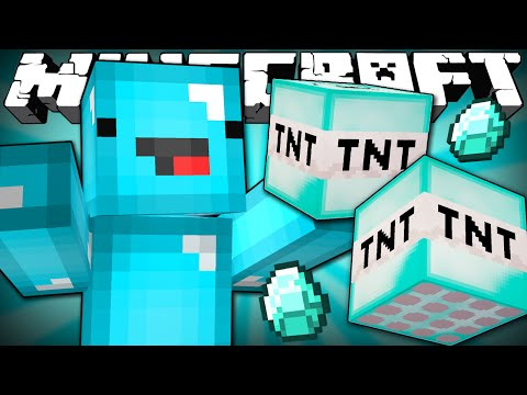 Thumbnail: If Everything was Made Out of Diamond - Minecraft