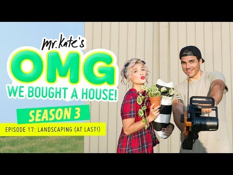 Landscaping Our Yard (At Last)! | OMG We Bought A House! | M