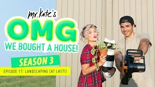 Landscaping Our Yard (At Last)! | OMG We Bought A House! | Mr. Kate