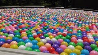 10 000 шариков в бассейне!