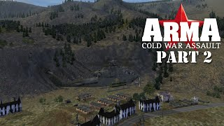 ARMA: Cold War Assault (Operation Flashpoint: Cold War Crisis) campaign. Part 2