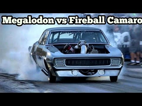 Megalodon vs Fireball Camaro at Armageddon NO Prep