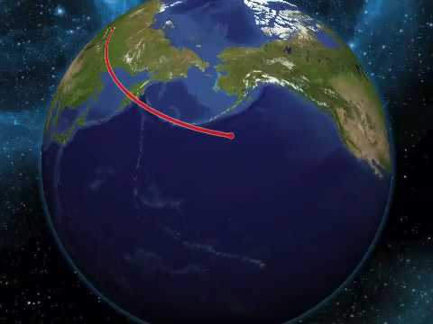 Distance Between USA and our Enemies