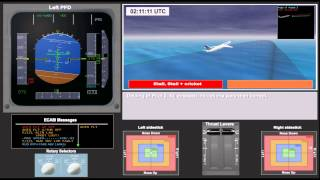 Air France A332 June 1st 2009 . French BEA animation of the accident