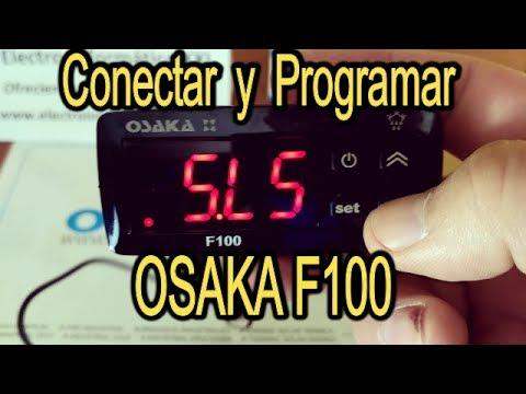 Conectar y Programar OSAKA F100 Termostato Digital Ideal Incubadoras, Terrarios