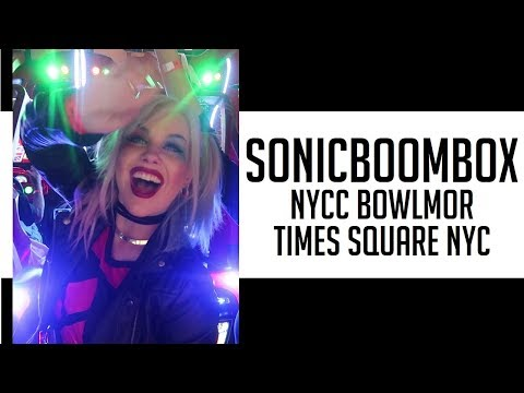 Thumbnail: THIS IS SONICBOOMBOX NYCC PARTY! BOWLMOR TIMES SQUARE NYC NEW YORK CITY COMIC CON afterparty
