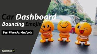 Car Dashboard Bouncing Emojis   Multi Emojis   Car Decor   Bouncing Emojis