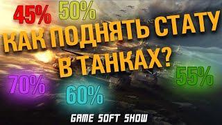 WoT Как поднять статистику и процент побед в World of Tanks и научиться играть в танки.