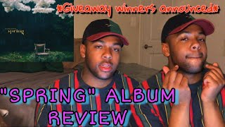 """Park Bom """"spring"""" album review + giveaway winners 