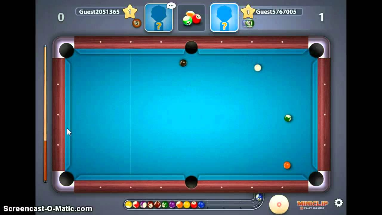 miniclip 8 ball pool sign up