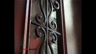 21. Элитная дверь со стеклом и ковкой(http://www.dverild.ru/dvery/elitnie/ Элитная дверь со стеклом и ковкой ООО