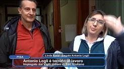 PISA - ANTONIO LOGLI E' TORNATO AL LAVORO