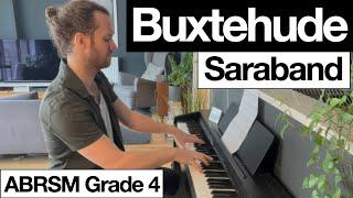 Buxtehude - Sarabande   Month 14   Adult Piano Progress