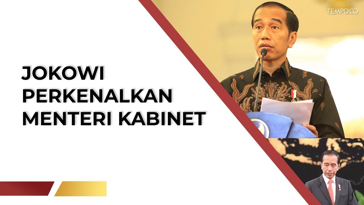 Pagi Ini Jokowi Perkenalkan Sosok Menteri Kabinet