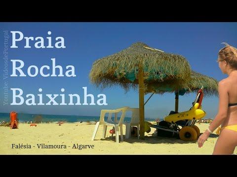 Praia da Rocha Baixinha  Falésia Algarve - Videos Portugal Travel