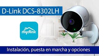 D-Link DCS-8302LH: Instalación y todas las opciones de visualización y configuración