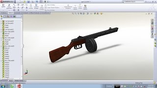 SolidWorks Tutorial : PPSh 41