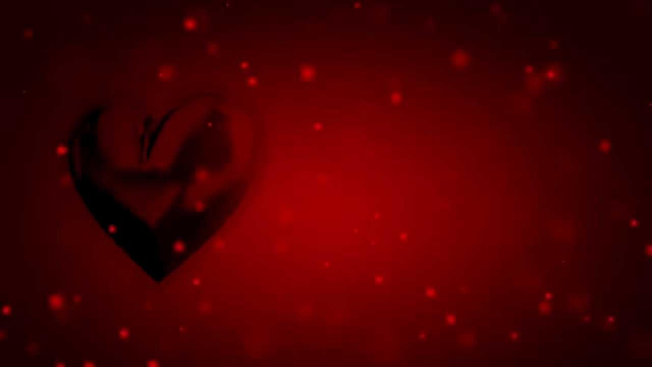 valentine love heart animation free overlay stock footage youtube